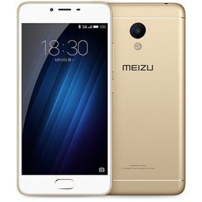 Смартфон Meizu M3s mini 16Gb золотистый (Y685H 16GB Gold)Смартфоны Meizu<br>5&amp;amp;#039;&amp;amp;#039; 1280x720, 1.0GHz+1.5GHz, 4+4 Core, 2GB RAM, 16GB, up to 128GB flash, 13Mpix/5Mpix, 2 Sim, 2G, 3G, LTE, BT, Wi-Fi, GPS, Glonass, 3020mAh, Android 6.0, 138g, 141.9x69.9x8.3, считыватель отпечатков пальцев<br>