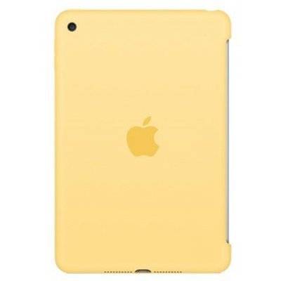 Чехол для планшета Apple iPad mini 4 Silicone Case - Yellow (MM3Q2ZM/A)