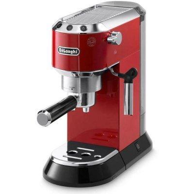 Кофемашина Delonghi Dedica EC680.R красный/серебристый (EC680.R)Кофемашины Delonghi<br>Кофемашина Delonghi Dedica EC680.R 1350Вт красный/серебристый<br>