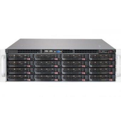 Корпус серверный SuperMicro CSE-836BE1C-R1K03JBOD черный (CSE-836BE1C-R1K03JBOD)Корпуса серверные SuperMicro<br>Корпус SuperMicro CSE-836BE1C-R1K03JBOD 2x1000W черный<br>