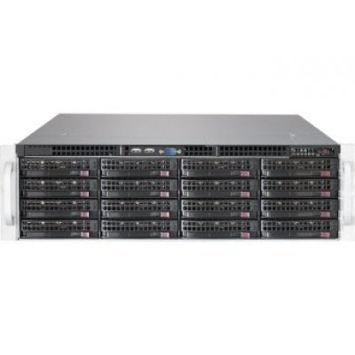 Корпус серверный SuperMicro CSE-836BE1C-R1K03B черный (CSE-836BE1C-R1K03B) supermicro cse 836be16 r920b