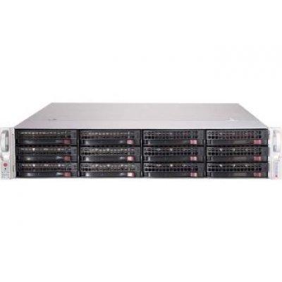 Корпус серверный SuperMicro CSE-826BE1C-R741JBOD черный (CSE-826BE1C-R741JBOD)Корпуса серверные SuperMicro<br>Корпус SuperMicro CSE-826BE1C-R741JBOD 2x740W черный<br>