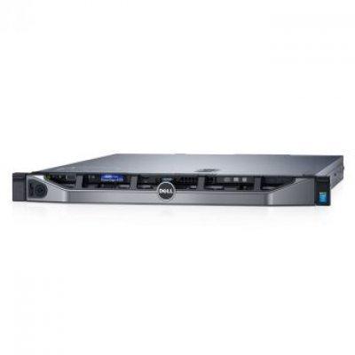 Сервер Dell PowerEdge R330 (210-AFEV-023) (210-AFEV/023)Серверы Dell<br>E3-1270v5 (3.6GHz, 4C), 16GB (1x16GB) UDIMM, (1)*1TB SATA 7.2k (up to 4x3.5), PERC H730/1GB, DVD+/-RW, Broadcom 5720 DP 1Gb LOM, iDRAC8 Enterprise, RPS (2)*350W, Bezel, ReadyRails, 3Y Basic NBD<br>