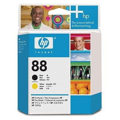 Печатающая головка HP № 88 (C9381A)  для K550, черная и желтая (C9381A)Печатающие головки HP<br>Подходит к HP Officejet Pro L7480 (CB061A), L7590 (CB822A), Officejet Pro L7680 (CB038A), <br>L7780 (CB039A), K5400 (C8184A), K5400dn (C8185A), K5400dtn (C9277A), K5400n (C9282A),<br>K550dtn (C8158A), K550dtwn (C8159B), K8600 (CB015A)<br>