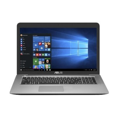 Ноутбук ASUS X756UQ-TY121T (90NB0C33-M01340) (90NB0C33-M01340)Ноутбуки ASUS<br>Core i7-6500/8Gb/1TB/DVD-Super Multi/17.3 HD+ GL/NV GT940MX 2GB/Wi-Fi/Windows 10/2.7Kg<br>