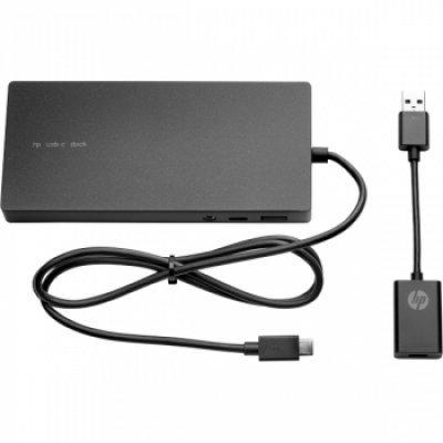 Док-станция для ноутбука HP Elite USB-C Docking Station G2 EURO (X7W54AA), арт: 246227 -  Док-станции HP