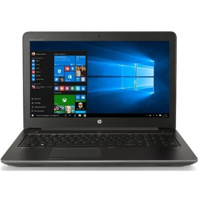 Ноутбук HP Zbook 15 G3 (Y6J58EA) (Y6J58EA)Ноутбуки HP<br>/i7-6700HQ 15 G3 / 256GB Z Turbo Drive PCIe / 8GB (2x4GB) 2133 DDR4 / W10p64 / 15.6 LED FHD AG slim / NVIDIA Quadro M1000M 2GB GDDR5 / WLAN Intel 8260 ac 2x2 non vPro BT 4.2 / FPR / 3yw<br>