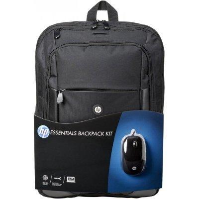 Рюкзак для ноутбука HP Essentials Backpack Kit 16 (E5L03AA)Рюкзаки для ноутбуков HP<br>рюкзак, макс. размер экрана 15.6, материал: синтетический<br>