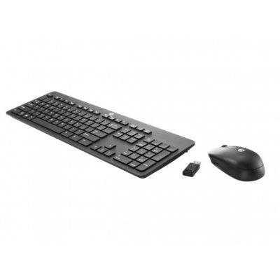 Комплект клавиатура+мышь HP Wireless Business Slim (N3R88AA)Комплекты клавиатура мышь HP<br>Тип: мембранная беспроводная, радиус действия: 10 м, подключение: USB, цвет: черный, дополнительно: мышь в комплекте (N3R88AA)<br>