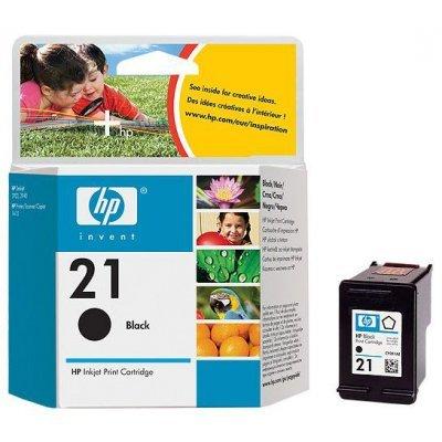 Картридж HP № 21 (C9351A)  черный (5мл) (C9351AE) цена и фото