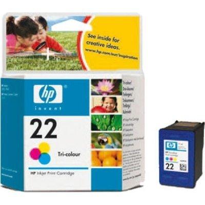 Картридж HP № 22 (C9352A) к PSC1410, DJ 3920/3940, цветной (5мл) (C9352AE) цена и фото