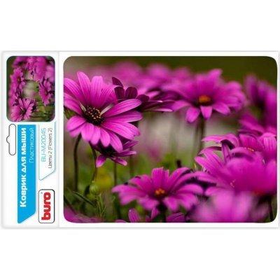 Коврик для мыши Buro BU-M20045 рисунок/цветы (BU-M20045)