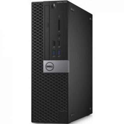 Настольный ПК Dell Optiplex 7040 SFF (7040-0088) (7040-0088)Настольные ПК Dell<br>ПК Dell Optiplex 7040 SFF i5 6500 (3.2)/8Gb 7.2k/SSD256Gb/HDG530/DVDRW/Windows 7 Professional 64 +W10Pro/GbitEth/черный/серый<br>