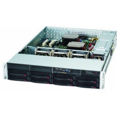 Корпус серверный SuperMicro CSE-825TQ-R720LPB (CSE-825TQ-R720LPB) корпус серверный supermicro cse 815tq 563cb cse 815tq 563cb
