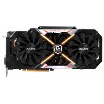 Видеокарта ПК Gigabyte GeForce GTX 1080 1784Mhz PCI-E 3.0 8192Mb 10400Mhz 256 bit DVI 3xHDMI HDCP Premium pack (GV-N1080XTREME-8GD-PP)Видеокарты ПК Gigabyte<br>видеокарта NVIDIA GeForce GTX 1080<br>8192 Мб видеопамяти GDDR5X<br>частота ядра/памяти: 1784/10400 МГц<br>поддержка режима SLI/CrossFire<br>разъемы DVI, HDMI, DisplayPort x3<br>поддержка DirectX 12, OpenGL 4.5<br>работа с 4 мониторами<br>