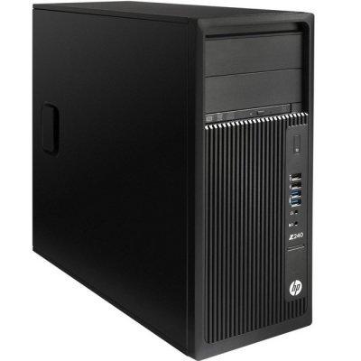 Рабочая станция HP Z240 (Y3Y30EA) (Y3Y30EA)Рабочие станции HP<br>TW, E3-1245v5, 8GB(2x4GB)DDR4-2133 ECC, 256GB PCIe, SuperMultiODD, Intel HD GFX P530, mouse, keyboard, Win10Pro 64<br>