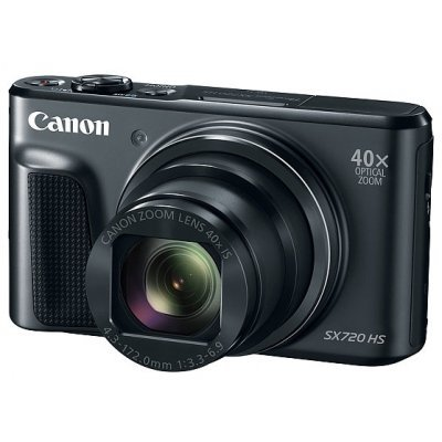Цифровая фотокамера Canon PowerShot SX720 HS черный (1070C002) canon powershot sx530 hs 9779b002 цифровая фотокамера