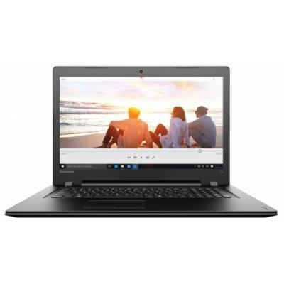Ноутбук Lenovo IdeaPad 300-17 (80QH009RRK) (80QH009RRK)Ноутбуки Lenovo<br>Lenovo IdeaPad 300-17 PDC 4405U 4Gb 1Tb AMD Radeon R5 M330 2Gb 17,3 HD+ BT Cam 2200мАч Win10 Черный 80QH009RRK<br>