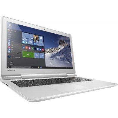 Ноутбук Lenovo IdeaPad 700-15 (80RU001BRK) (80RU001BRK)Ноутбуки Lenovo<br>Lenovo IdeaPad 700-15 i5-6300HQ 8Gb 1Tb + SSD 128Gb nV GTX950M 2Gb 15,6 FHD IPS BT Cam 4050мАч Win10 Белый 80RU001BRK<br>