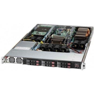 Серверная платформа SuperMicro SYS-1018GR-T (SYS-1018GR-T)Серверные платформы SuperMicro<br>Supermicro SuperServer 1U 1018GR-T no CPU(1) E5-2600/1600v3/v4 no memory(8)/ on board RAID 0/1/5/10/ no HDD(6)SFF/ 2xGE/ 2x PCI-E GPU/Xeon Phi cards/ 1xLP/ 1x1400W Platinum/ Backplane 6xSATA/SAS<br>