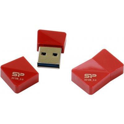 USB накопитель Silicon Power Jewel J08 32GB красный (SP032GBUF3J08V1R), арт: 246561 -  USB накопители Silicon Power