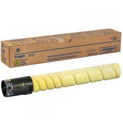 Тонер-картридж для лазерных аппаратов Konica Minolta A11G251 TN-216Y (A11G251)Тонер-картриджи для лазерных аппаратов Konica Minolta<br>A11G251 Тонер-картридж TN-216Y Konica-Minolta bizhub C220/280 желтый (26 000 стр.)<br>