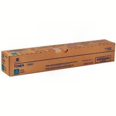 Тонер-картридж для лазерных аппаратов Konica Minolta A11G451 TN-216C (A11G451)Тонер-картриджи для лазерных аппаратов Konica Minolta<br>A11G451 Тонер Konica-Minolta bizhub C220/280 синий TN-216C (26 000 стр.)<br>