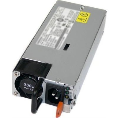 Блок питания сервера Lenovo SystemX 550W (1 PSU) Hot Swap High Efficiency Platinum Redundant Power Supply 00KA094 (00KA094)