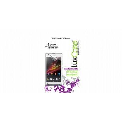 Пленка защитная для смартфонов LuxCase для Sony Xperia SP C5302 (Антибликовая) (80926)Пленки защитные для смартфонов LuxCase<br>Защитная пленка LuxCase для Sony Xperia SP (Антибликовая), C5302, 63х126 мм<br>