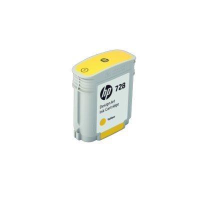 Картридж для струйных аппаратов HP 728 Yellow Ink (F9J61A)