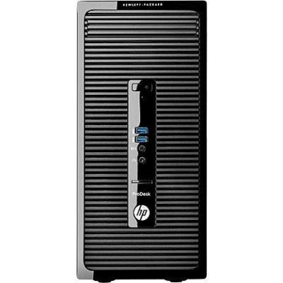 Настольный ПК HP Bundle 400 G2 DM (Y5P98EA) (Y5P98EA)Настольные ПК HP<br>Core i3-6100T,4GB DDR4-2133 DIMM (1x4GB),500GB,DVDRW,USB slim kbd/mouse,FreeDos,1-1-1 Wty + Monitor HP 23   P233<br>