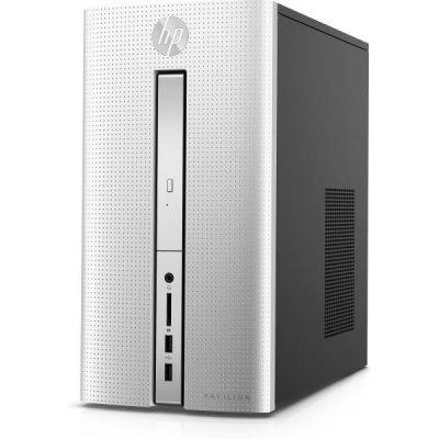 Настольный ПК HP Pavilion 510 510-p170ur (Z0J99EA) (Z0J99EA)Настольные ПК HP<br>,Intel Core i7-6700T,8GB DDR4 (1X8GB),HDD 1TB SSHD 8GB,Nvidia GTX 950 2GB DDR5,DVDRW,Silver,Win10<br>