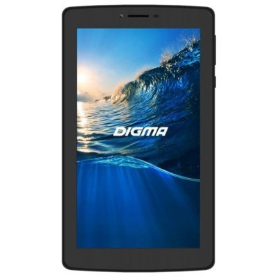 Планшетный ПК Digma Plane 7006 4G черный (PS7041PL) bq 7006 7 1024mb 8gb 4g wifi bt android 5 1 black