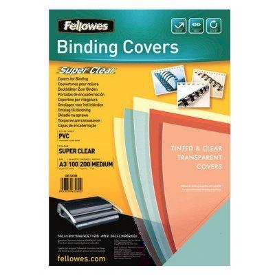 Обложки для переплета Fellowes FS-53764 (FS-53764)Обложки для переплета Fellowes<br>Обложки для переплёта Fellowes A3 прозрачный (100шт) FS-53764<br>