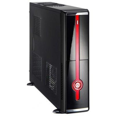 Корпус системного блока FORMULA R-120B 350W Black/red (R-120BR)Корпуса системного блока FORMULA<br>компьютерный корпус Slim-Desktop для домашнего кинотеатра (HTPC)блок питания 350 Вт форм-фактор ATX спереди: USB x2, наушн., микр. габариты: 360x100x455 мм<br>