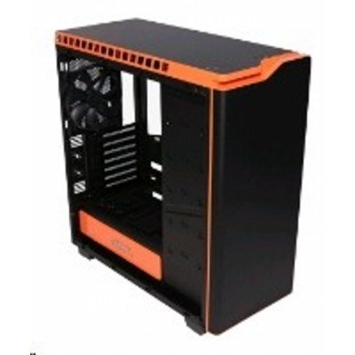 Корпус системного блока NZXT H440 Black/orange (CA-H442W-M0) корпус nzxt phantom 630 черный w o psu atx 2xusb2 0 2xusb3 0 audio cardreader front door bott psu