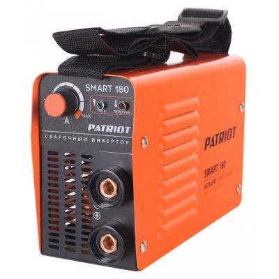 Сварочный аппарат Patriot SMART 180 MMA (605301835)  аппарат сварочный patriot smart 180 mma