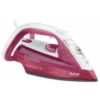 Утюг Tefal FV4920E0 розовый/белый (1830005911) утюг tefal turbo pro fv5630e0
