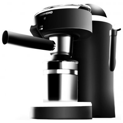 Кофеварка Redmond RCM-1502 (RCM-1502)Кофеварки Redmond<br>кофеварка эспрессо полуавтоматическая для молотого кофе приготовление капучино<br>