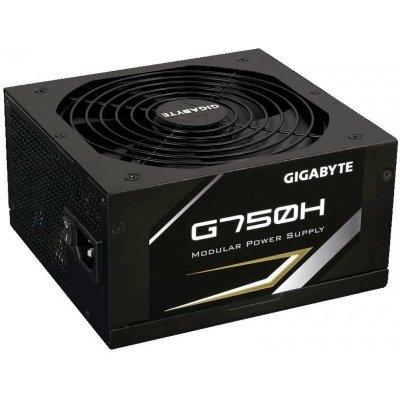 Блок питания ПК Gigabyte G750H 750W (G750H)Блоки питания ПК Gigabyte<br>мощность 750 Вт, активный PFC, вентилятор 140x140 мм, cертификат 80 PLUS Gold, отстегивающиеся кабели<br>