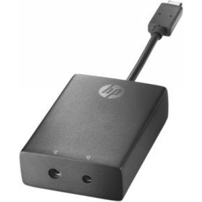 Адаптер USB HP USB-C to 3 and 4.5mm (N2Z65AA)Адаптеры USB HP<br>Adapter (EliteBook 1030 G1/1040 G3/745 G3/ Folio G1/ZBook 15 G3/Elite Tablet x2 1012 G1/608 G1)<br>