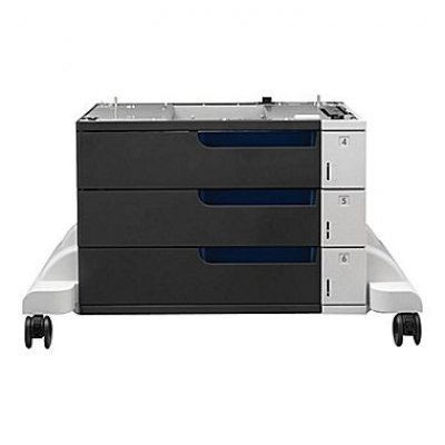 Лоток для бумаги HP C1N63A (C1N63A)Лотки для бумаги HP<br>HP Accessory - 3x500 Sheet Tray And Stand for HP CLJ M855 series<br>