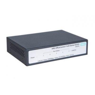 Коммутатор HP 1420 (JH327A) (JH327A)Коммутаторы HP<br>Коммутатор HP 1420 JH327A 5x10/100/1000BASE-T<br>