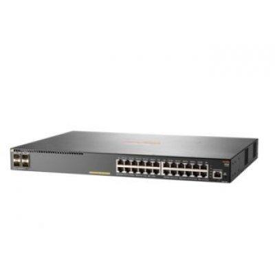 Коммутатор HP Aruba 2930F 24G PoE+ 4SFP Switch (JL261A) (JL261A)Коммутаторы HP<br>Коммутатор HP Aruba 2930F 24G PoE+ 4SFP Switch (JL261A)<br>