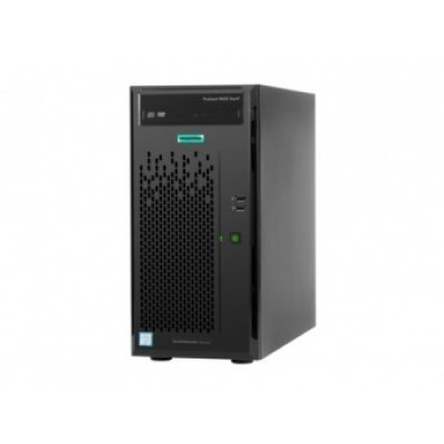 Сервер HP ProLiant ML10 Gen9 (838124-425) (838124-425)Серверы HP<br>E3-1225v5 NHP Tower(4U)/Xeon4C 3.3GHz(8Mb)/1x8GbU1D_2133_STND/IntelRST(ZM/RAID 0/1/10/5)/2x1TB7.2K SATA6G(up4/5)LFF/DVDRW/Intel AMT 11.0/1NHPFan/1GbEth/1x300W(NHP)<br>