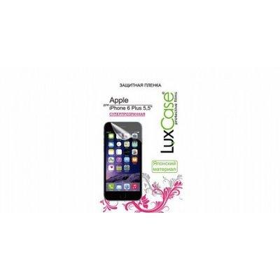 Пленка защитная для смартфонов LuxCase для Apple iPhone 6 Plus 5.5, (Суперпрозрачная), 158х77 мм (81202)Пленки защитные для смартфонов LuxCase<br>Защитная пленка LuxCase для Apple iPhone 6 Plus 5.5, (Суперпрозрачная), 158х77 мм<br>