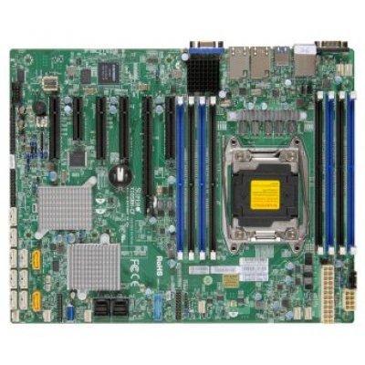 Материнская плата сервера SuperMicro MBD-X10SRH-CF-O (MBD-X10SRH-CF-O)Материнские плата серверов SuperMicro<br>Материнская Плата SuperMicro MBD-X10SRH-CF-O Soc-2011 iC612 ATX 8xDDR4 10xSATA3 SATA RAID iI350-AM2 2хGgbEth Ret<br>