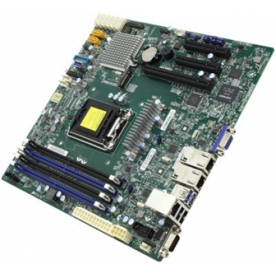 Материнская плата сервера SuperMicro MBD-X11SSH-F-O (MBD-X11SSH-F-O)Материнские плата серверов SuperMicro<br>Материнская Плата SuperMicro MBD-X11SSH-F-O Soc-1151 iC236 mATX 4xDDR4 8xSATA3 SATA RAID i210AT 2хGgbEth Ret<br>