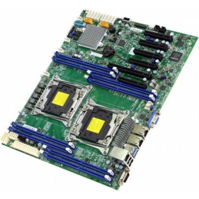 Материнская плата сервера SuperMicro MBD-X10DRL-I-O (MBD-X10DRL-I-O)Материнские плата серверов SuperMicro<br>Supermicro Motherboard 2xCPU X10DRL-I E5-2600v3/v4 UpTo2x4DIMM/ 10xSATA3/ C612 RAID 0/1/5/10/ 2xGE/ 3xPCIx8, 1xPCIx16, 2xPCIx4(in x8)(12 x 10)<br>