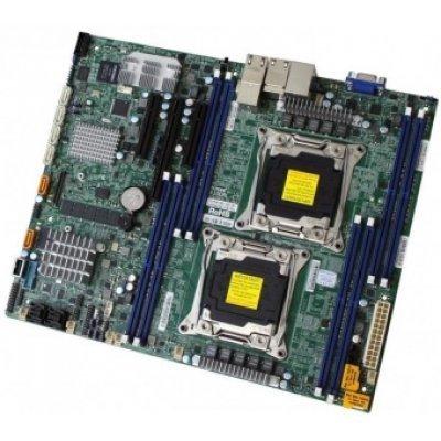 Материнская плата сервера SuperMicro MBD-X10DRL-CT-O (MBD-X10DRL-CT-O)Материнские плата серверов SuperMicro<br>Материнская плата Supermicro X10DRL-CT, ATX, LGA 2011v3, MBD-X10DRL-CT-O<br>
